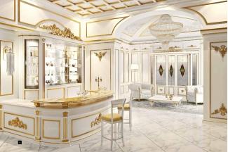 SIGNORINI&COCO新古典金色吧台