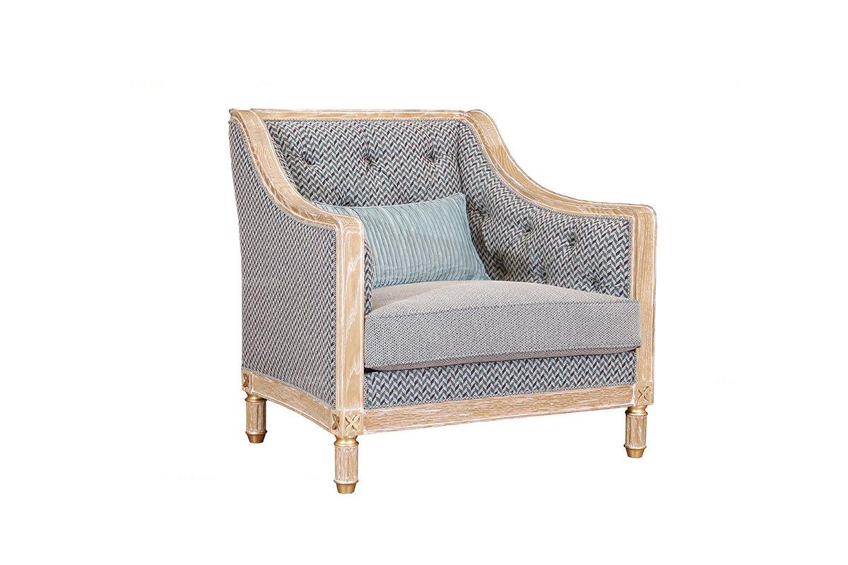 高端品牌简约新古典木色单位沙发