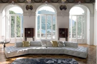 Longhi现代风白色客厅沙发组合