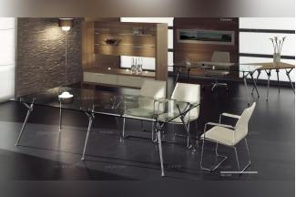 codutti 办公家具玻璃台面会议桌系列