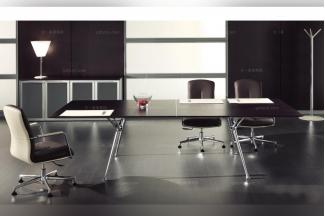 codutti 办公家具黑色台面会议桌系列