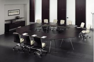 codutti 办公万博手机网页黑色台面会议桌系列
