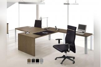 codutti 办公家具原木色单人办公桌系列