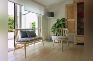 Volpi 意大利进口法式休闲实木沙发组合