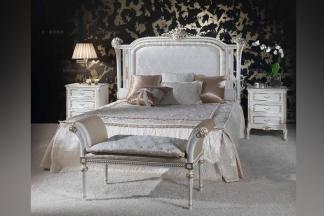 Minotti Luigi&Benigno欧式雕花布艺软床卧室系列