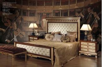 Minotti Luigi&Benigno欧式实木雕花布艺软床卧室系列