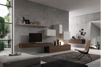 Presotto后现代客厅电视柜系列