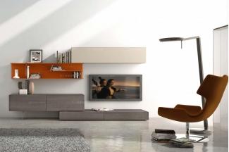 Presotto后现代客厅电视柜组合