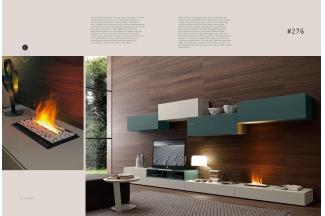 Presotto后现代实木电视柜系列