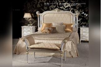 Minotti Luigi&Benigno欧式实木雕花白色卧室系列