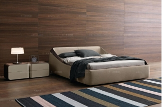 Presotto后现代风时尚大床系列