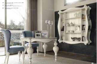 Volpi 意大利进口高端时尚法式玻璃圆餐台