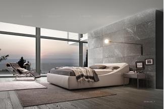 Presotto后现代海景房卧室系列