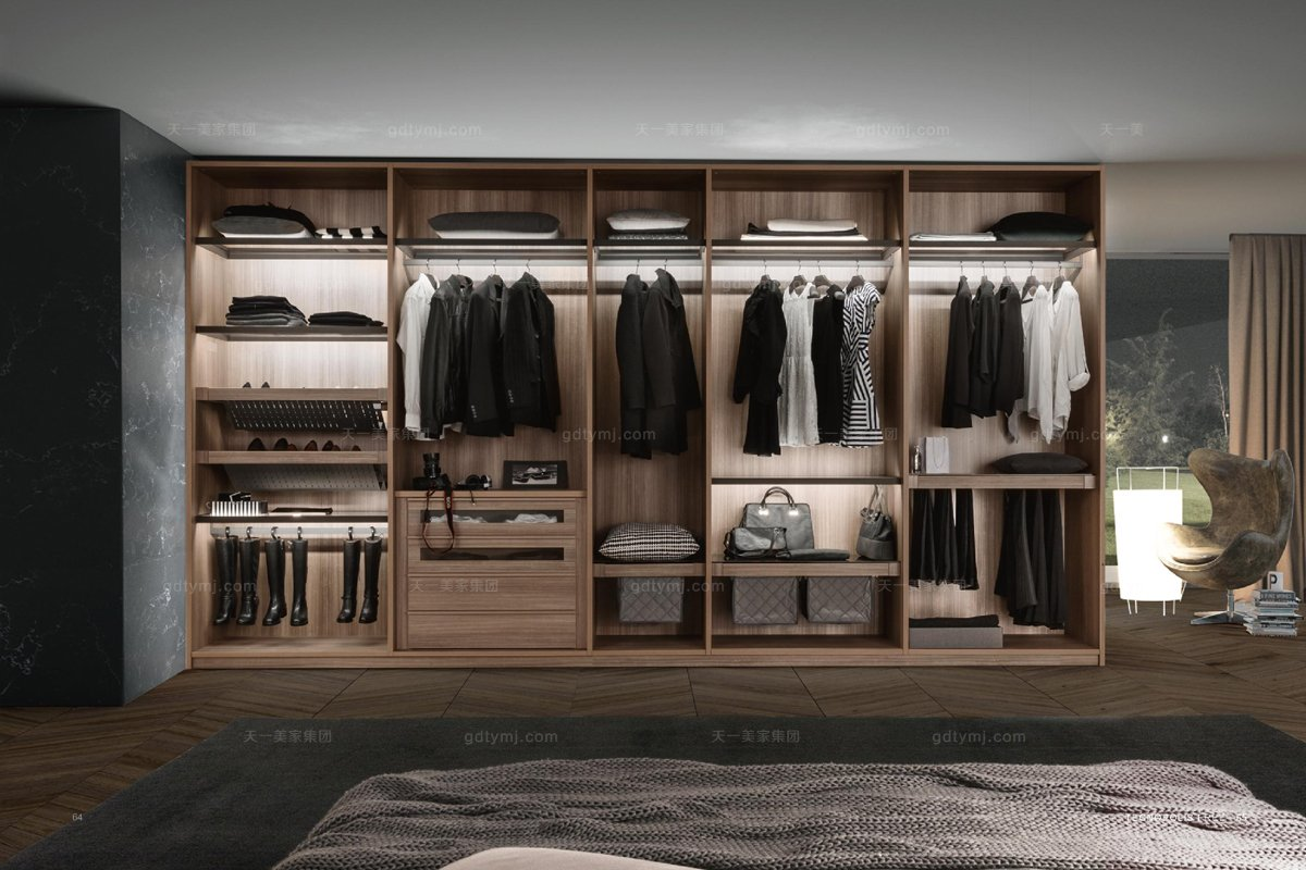 Presotto后现代固装衣柜系列