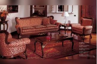 Minotti Luigi&Benigno欧式样板间的家具实木雕花客厅系列