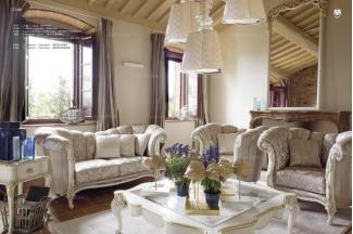 Volpi 意大利进口高端时尚法式别墅会所布艺沙发组合