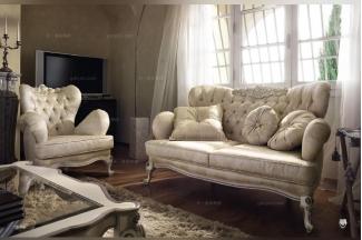 Volpi 意大利进口高端品牌别墅会所法式布艺沙发