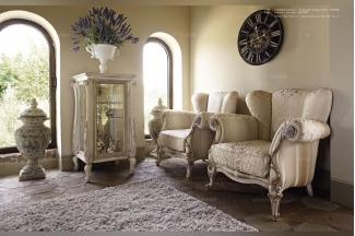 Volpi 意大利进口法式高端品牌雕刻布艺单位沙发