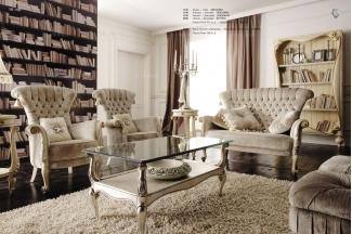 Volpi意大利进口高端品牌法式布艺沙发