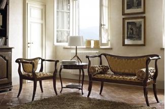 Volpi意大利进口高端品牌法式休闲沙发椅组合