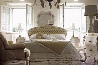 所有家具品牌Volpi意大利进口法式高端品牌拉扣双人床
