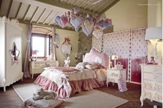 Volpi 意大利进口高端时尚法式粉红儿童卧房系列