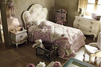 Volpi意大利进口法式别墅会所儿童双人床