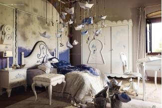 Volpi意大利进口高端时尚法式男孩床