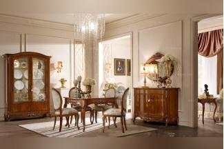 Valderamobili 意大利进口法式高端品牌雕刻深色麻将桌
