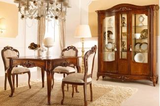 Valderamobili 意大利进口法式高端品牌雕刻麻将桌椅