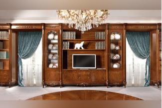 Valderamobili 意大利进口法式高端品牌雕刻组合电视柜