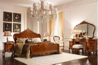Valderamobili意大利进口法式高端品牌实木双人床