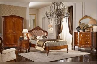Valderamobili意大利进口法式雕刻别墅会所双人床