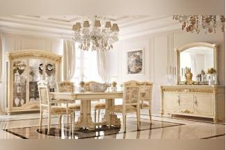 Valderamobili意大利进口高端时尚法式浅色餐厅系列