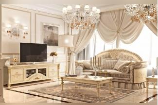 Valderamobili意大利进口高端时尚法式客厅组合