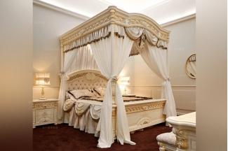 Valderamobili 意大利进口高端时尚法式四柱床