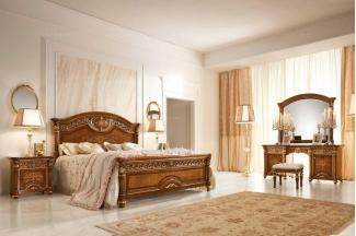 Valderamobili 意大利进口法式高端品牌雕刻双人床