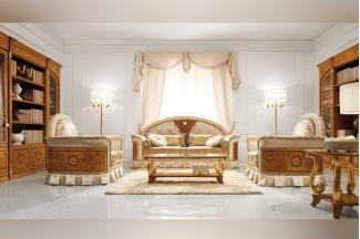Valderamobili 意大利进口法式高端品牌雕刻沙发组合