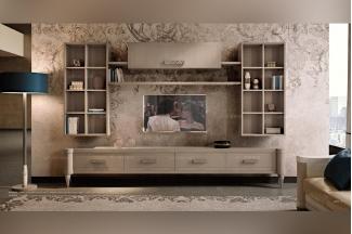 Valderamobili 意大利进口高档时尚法式电视柜