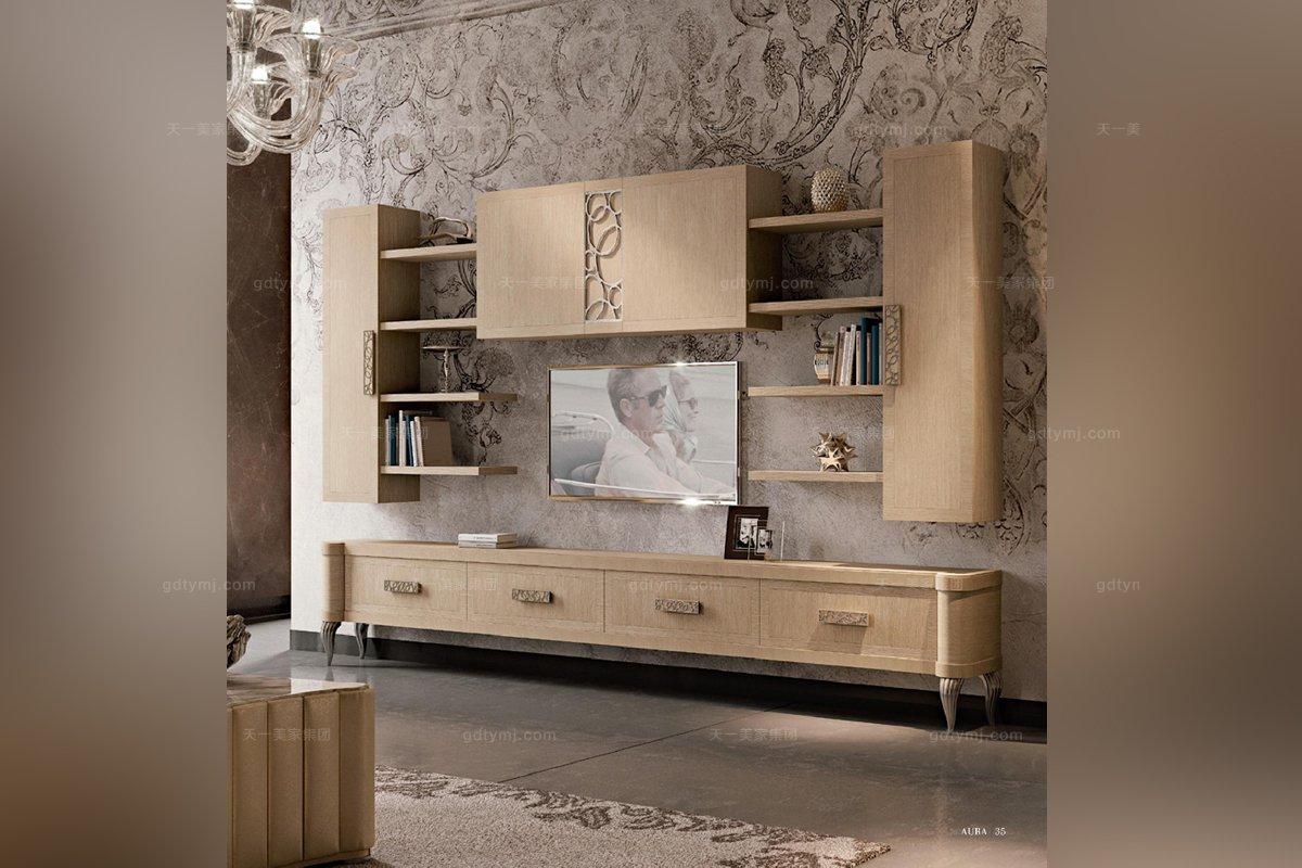 Valderamobili 意大利进口高端时尚法式电视柜