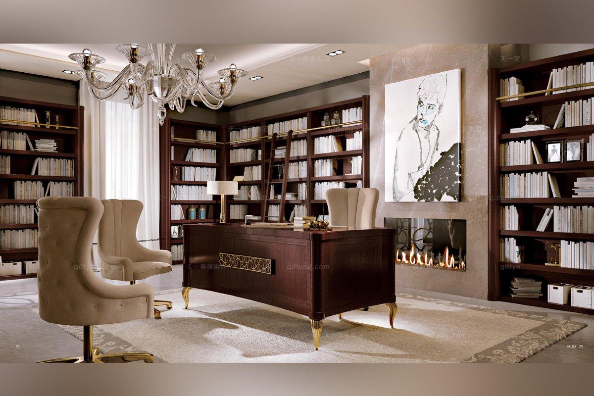 Valderamobili 意大利进口法式高端品牌雕刻书桌