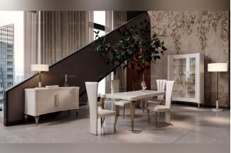 国外万博手机网页Valderamobili意大利进口高端时尚法式长餐台