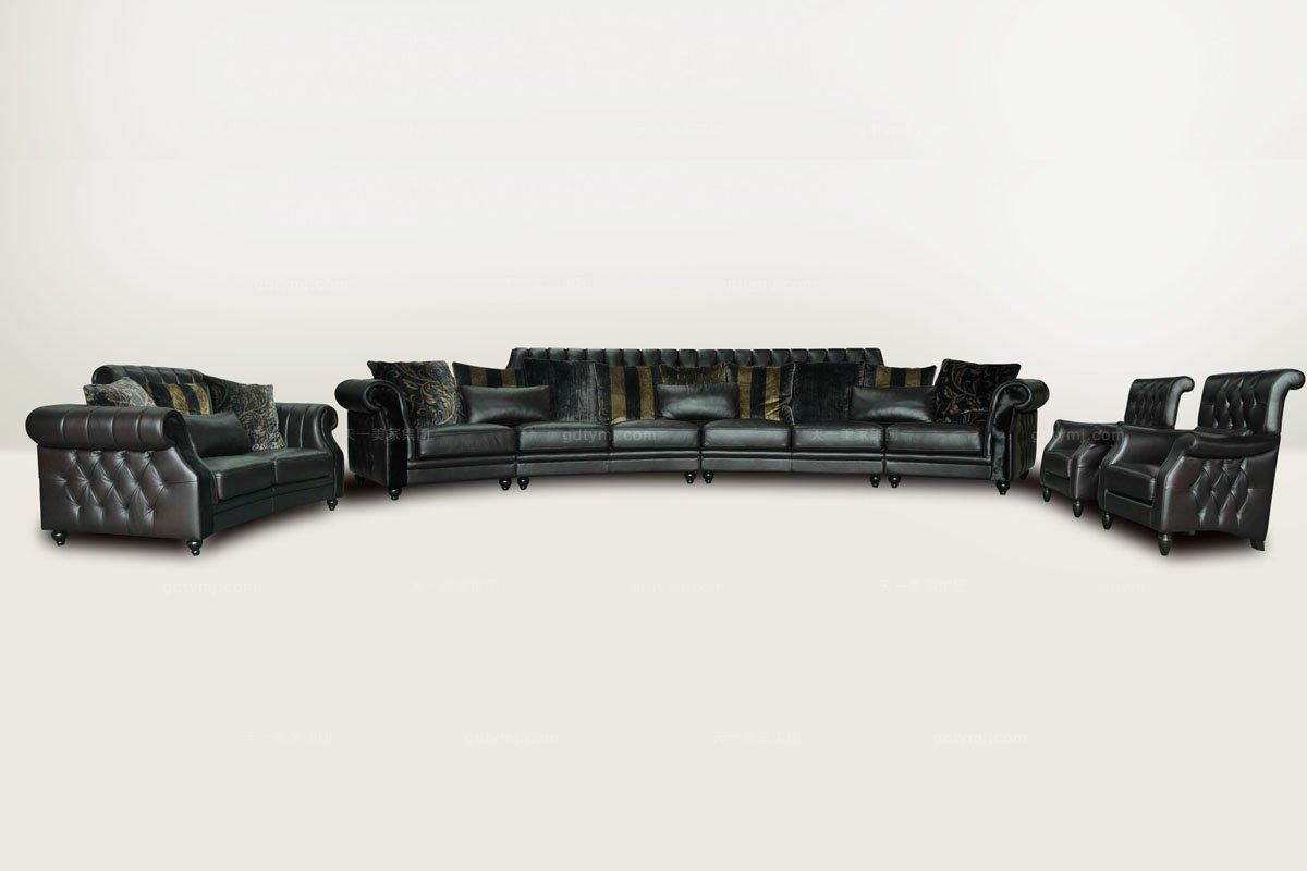 高端品牌别墅会所客厅万博手机网页组合沙发
