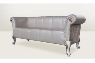 高端品牌簡歐別墅會所真皮床尾凳