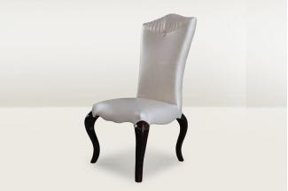 高端时尚简欧真皮餐椅