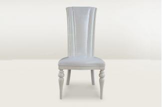 高端时尚简欧大气真皮餐椅