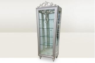 高端时尚简欧玻璃单门酒柜