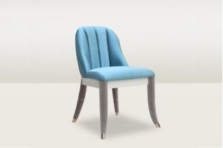 高端时尚简欧蓝色妆椅