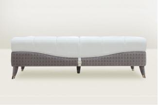 高端時尚簡歐別墅會所床尾凳
