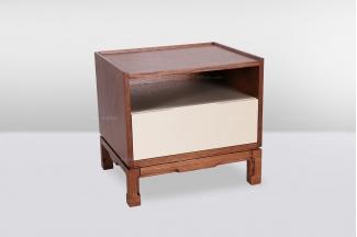 高端品牌简欧木色床头柜